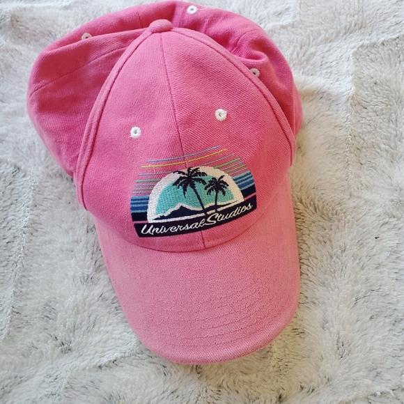 Vintage Accessories - Vintage 2000's Hot Pink Universal Studio's Hat